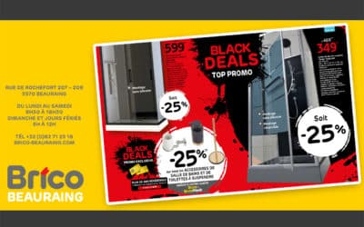 Black Deals top promo chez Brico Beauraing